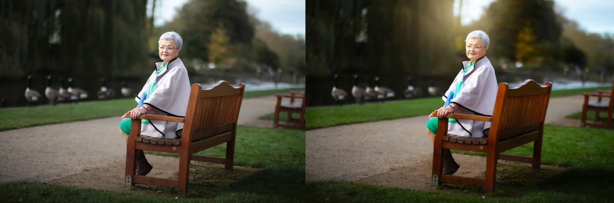 Sat-on-bench
